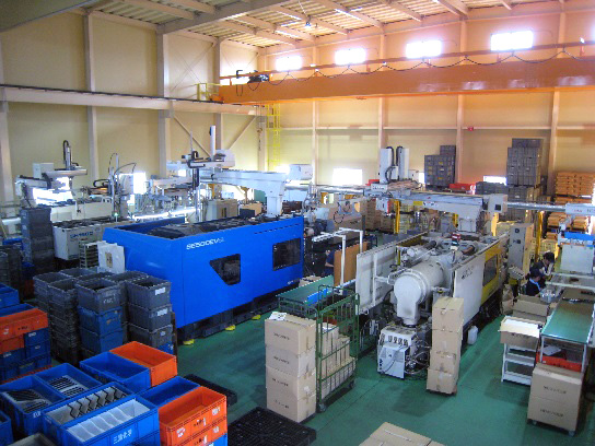 第2工場 成形現場